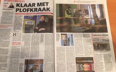 Mistmachines van Mistmachine.nl in artikel De Telegraaf
