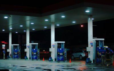 Onze Mistgenerator schakelt gewapende overvaller op tankstation uit